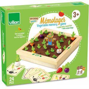 Vilac - Družabna igra zelenjavni vrt