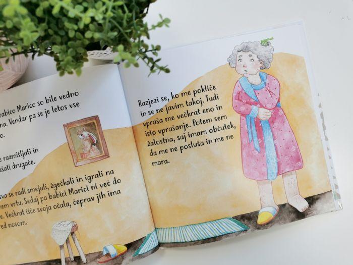Knjiga tedna: Babica Marica razmišlja drugače, Petra Boh