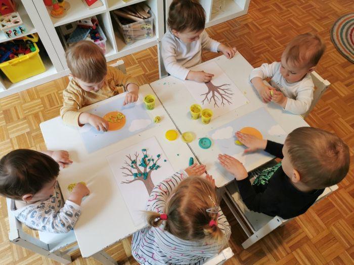 Pomladni plastelin in predloge