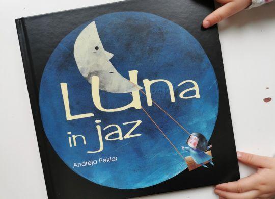 Knjiga tedna: Luna in jaz, Andreja Peklar