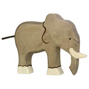 Holztiger - slon