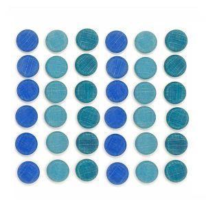 Grapat - Mandala mali modri kovanci