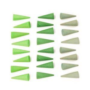 Grapat: Mandala zeleni stožci