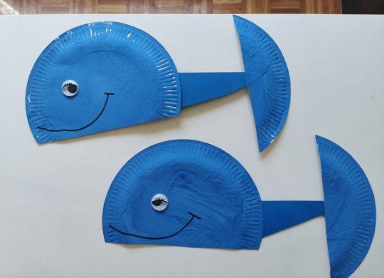Kit iz papirnatega krožnika