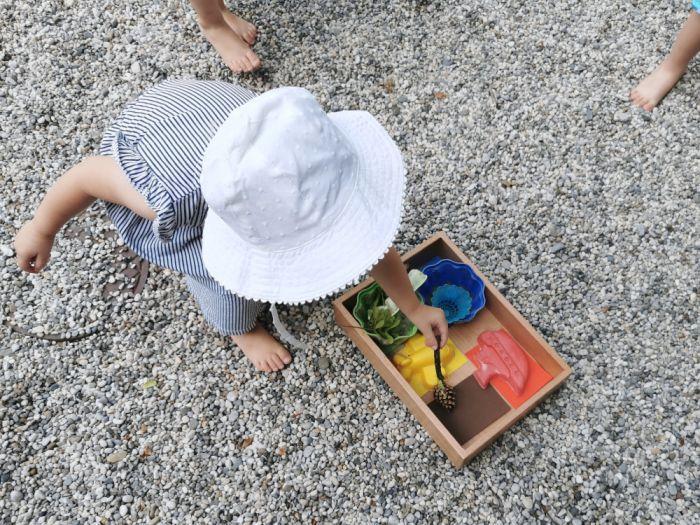 Iskanje barv na igrišču