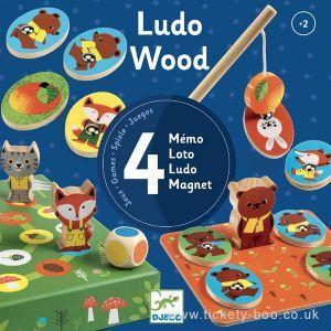 Djeco - Štiri lesene igre