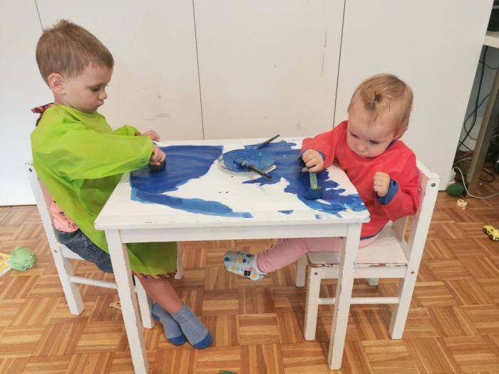 Morske slike - poletne likovne aktivnosti za otroke