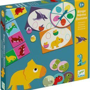 Djeco - Tri igre Dinozavri