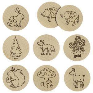 Goki - spomin - gozdne živali